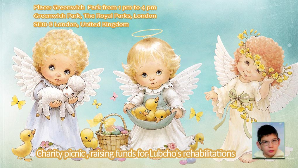 Charity picnic , raising funds for Lubcho's rehabilitations